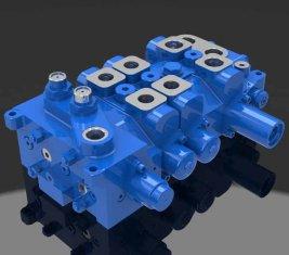 Multi - directionnelle hydraulique Valve 4 DP20GL-2 pour les grues de façon