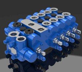Combinaison contrôle directionnel vanne proportionnelle hydraulique 5 DL-G10L-TA