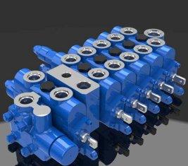 Combinaison contrôle cartouche directionnel hydraulique Valve 6 DL-G10L-B
