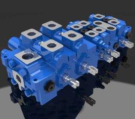Multi - mode Load Sensing directionnel hydraulique Valve DP25-20 G
