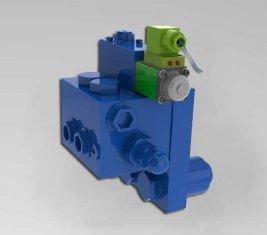 Chine Grue coussin directionnel hydraulique Valve HCF15L pour machines de Construction fournisseur