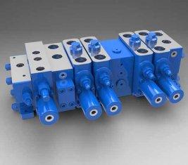 Pleine charge sensible Multi - directionnelle de façon hydraulique Valve LTYB-G28L-t