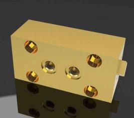 SO1 Construction soupape hydraulique directionnel Lock pour Machines de pavage
