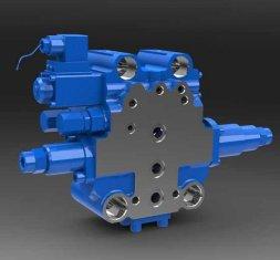 Chine SXHCF10L tampon rotative directionnel hydrauliques de soupape pour moteur niveleuses fournisseur