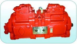 63cc, 112cc, 140cc petite hydraulique pompes à Piston K3V63DT, K3V112DT, K3V140DT