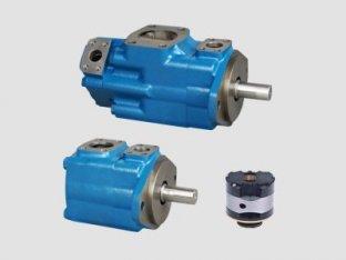 Émulsions de 1200 tr/min pompe à ailettes hydraulique Vickers unique avec l'eau-dans-l'huile