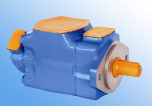 4520V 14 / 16 Rpm Vane hydraulique Tandem pompe pour Machine à Injection plastique