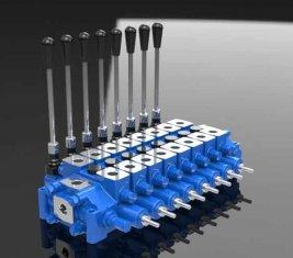 Réparation hydraulique combiné bobine HCD6 du robinet contrôle directionnel