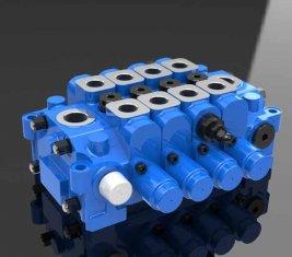Chine 4GCJX de soupape de commande directionnelle Multi hydraulique-G18L pour l'ingénierie fournisseur