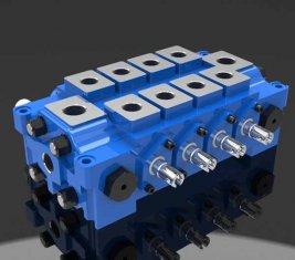 Chine Multiples hydraulique combiné vanne directionnelle DL pour l'ingénierie fournisseur