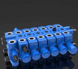 Chine Multi - way hydraulique réparation combinaison DL de soupape pour le contrôle directionnel fournisseur