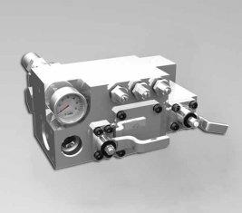 420 / 400 Bar Manuel eau contrôle directionnel Valve CLSF38-1