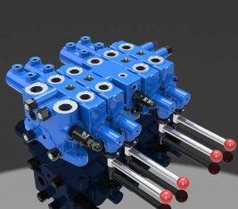 Chine Extraction de vanne de contrôle hydraulique cocher Multi directionnel DLYS fournisseur