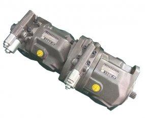 Chine Flux A10VSO28 de pompe hydraulique de contrôle en Tandem avec un couple de 125 Nm fournisseur